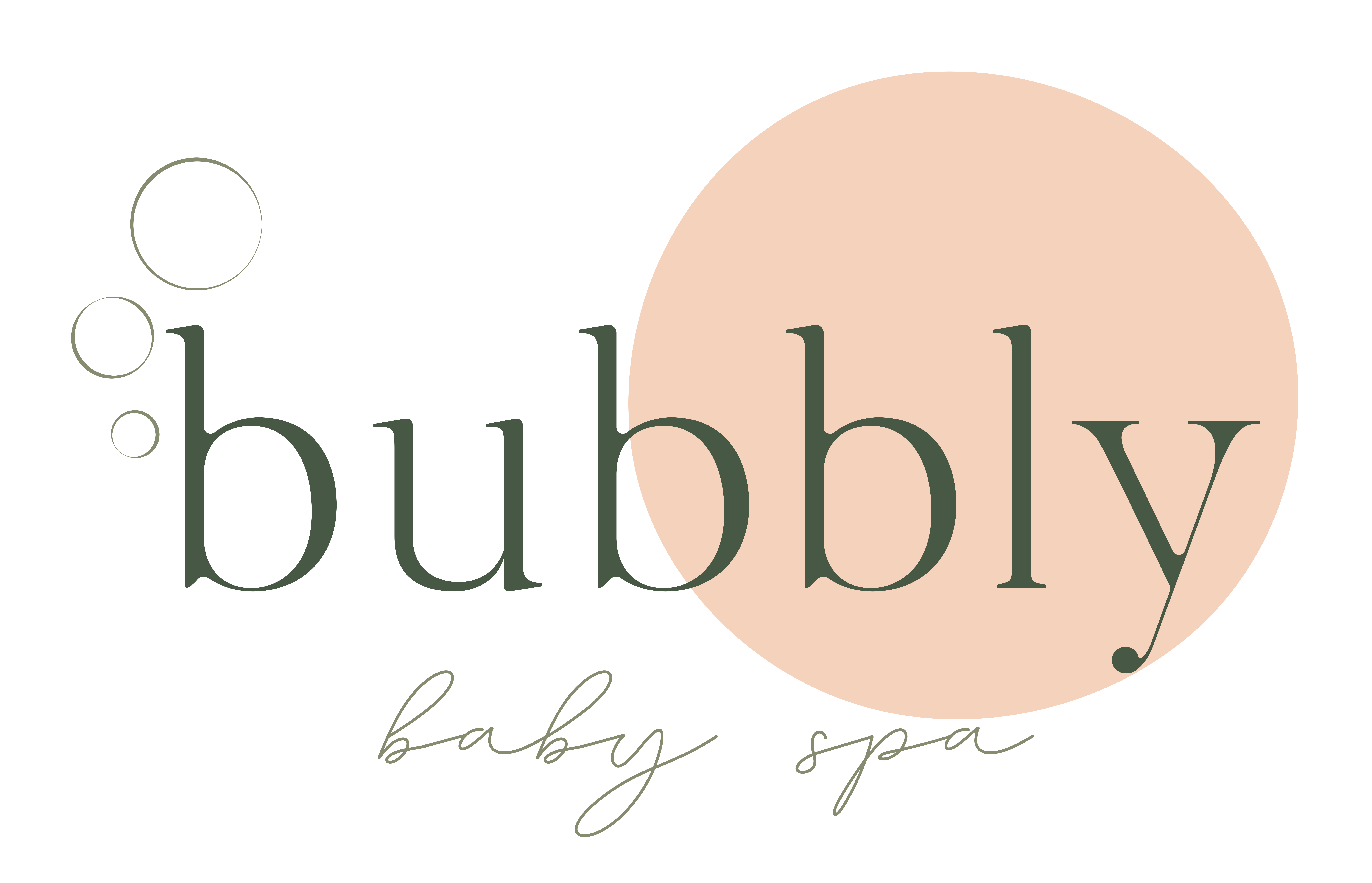 Logo Bubbly babyspa Oudenaarde