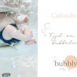 Cadeaubon Bubbly baby spa